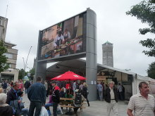 Plymouth, Big Screen, Armada Way, Devon © Lewis Clarke